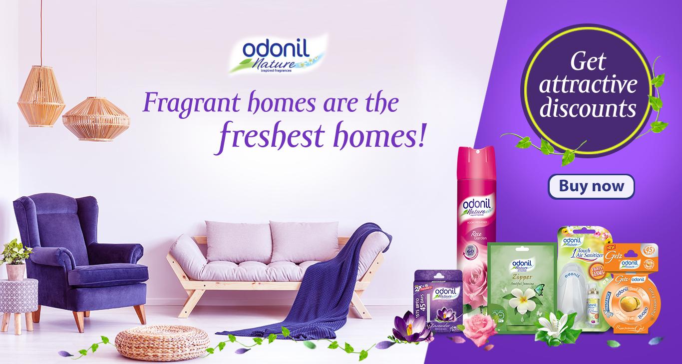 Odonil Room & Toilet Air Freshener