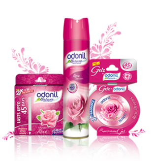 Odonil Air Fresheners - Rose